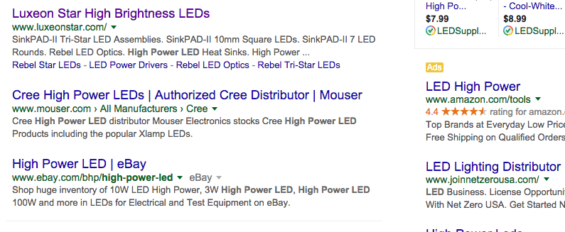 SERP Results 10X Content SEO