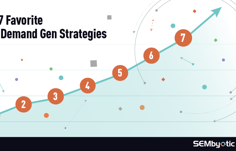 Our 7 Favorite Strategies for B2B Demand Gen
